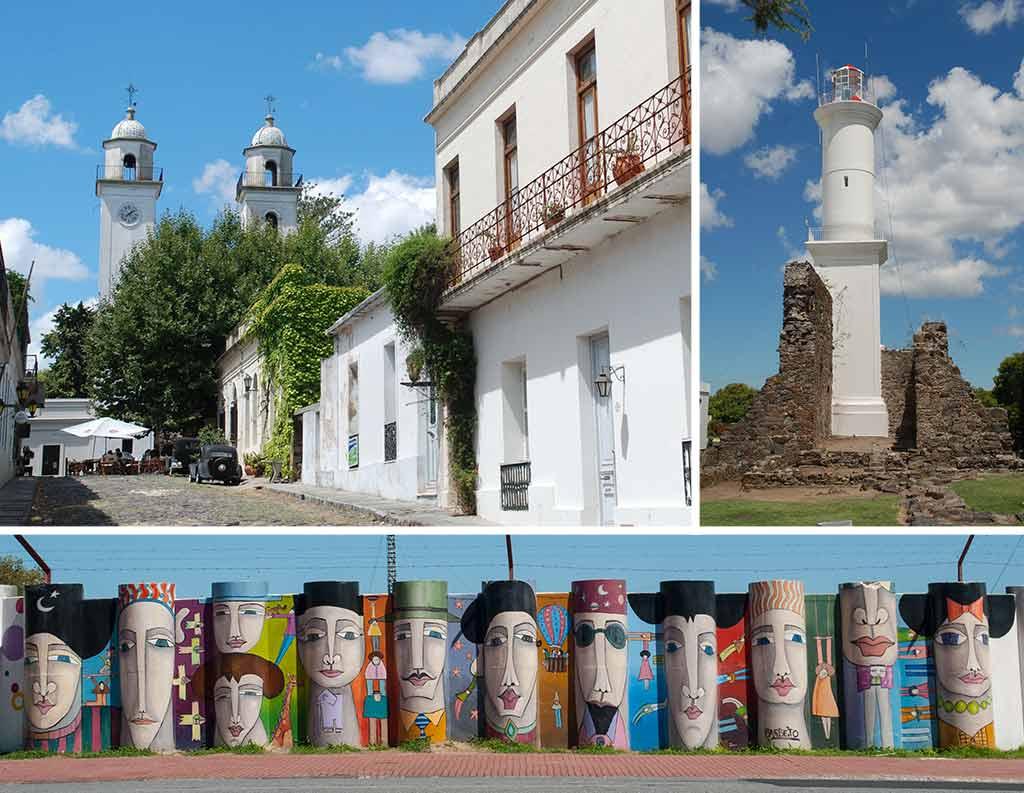 Uruguay II:Punta del Diablo, Cabo Polonio, La Pedrera y Colonia Sacramento
