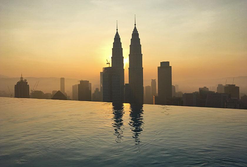 Ruta de un mes por Malasia